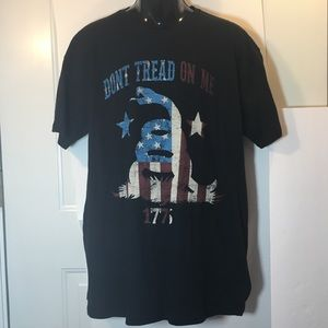 Other - Men's Don't Tread On Me Graphic Tee XL Black
